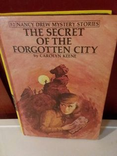60942bab633 Nancy Drew Mysteries The Secret of the Forgotten City. Hardcover Vintage  1975