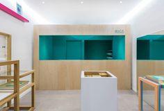 Branding for a contemporary jewllery house | MICA by SAVVY STUDIO , via Behance