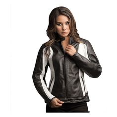 The Women's Halle Leather Motorcycle Jacket has some versatility built in. The perforated panels in the full grain leather allow excellent airflow, or add the quilted liner back in when things cool down a bit. For protection the Halle Jacket has CE armor at the shoulders and elbows and a removable memory foam back pad.