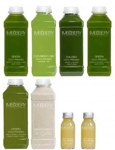 Imbibery detox juice