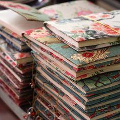 Make some pretty book covers.