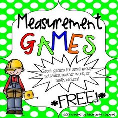 Measurement Games Freebie!