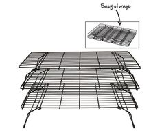 Aldi Us Crofton 3 Tier Cooling Rack Grocery Ads Cooling Racks