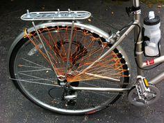 DIY bicycle skirt guard
