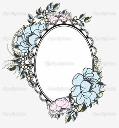 Portrait frame for a tattoo I want