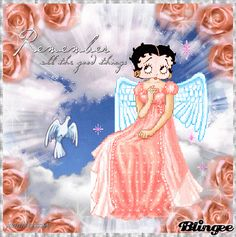 peach angel betty
