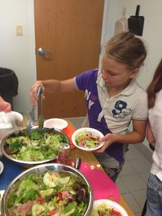 Dawn's LDS Activity Days: Serving Others #4- Plan, Prepare, and Serve a nutritious meal