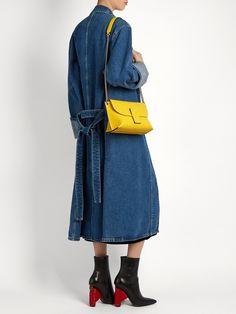 Avenue leather cross-body bag | Loewe | MATCHESFASHION.COM UK Loewe Bag, Leather Crossbody Bag, Cross Body, Cravings, Women Wear, Detail, Board, Collection, Shopping