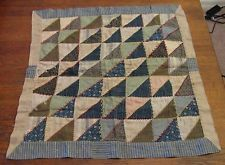 early american quilts | Antique Early American Doll Quilt blanket primitive 19th century