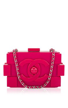 Chanel Fuchsia Pink Lego Clutch Boy Bag by Madison Avenue Couture for  Preorder on Moda Operandi 2b2dc399b71ba