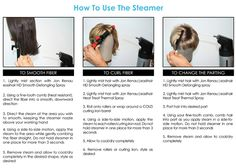 How to use Jon Renau's steamer. The steamer is a useful tool for any alternative hair stylist working with synthetic hair and/or high heat synthetic fibers.