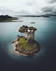 Scotland - Castle Stalker