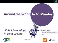 Global Technology Market Update by International CES via slideshare
