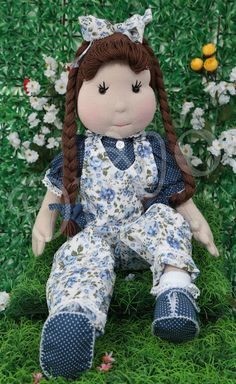 Boneca Di Vó: Amor da Laura