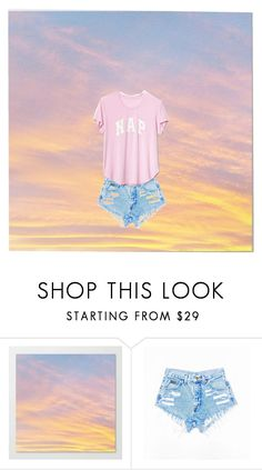 """""""naps"""" by shoplifters123 ❤ liked on Polyvore featuring Gap"""