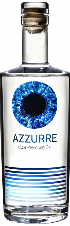 azzurre ultra premium gin