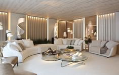 Luxury modern penthouse living room interiors in amazing colors. Check out our interior design prices. Ceiling Design Living Room, Home Room Design, Interior Design Living Room, Modern Living Room Designs, Modern Living Room Decor, Good Living Room Colors, Modern Apartment Design, Modern Contemporary Living Room, Best Living Room Design