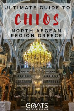 Chios Greece is one of the most fascinating & unique islands in Greece! Learn about the highlights of Chios in this post, this is why you should visit Chios