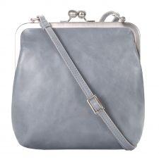 """kleine Bügeltasche in Vintage Farbe """"mist"""" Nebel, Handtasche,#TASCHE #BAG"""