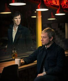 The Dynamic Duo -  Sherlock, TV's best bromance, returns.