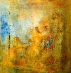 BertaArt (Clara Berta): Light after Rain - SOLD - Mixed Media on Canvas 36 X 36