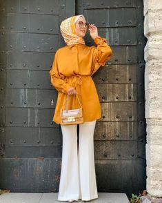 Modern Hijab Fashion, Modesty Fashion, Muslim Fashion, Fashion Outfits, Fashion Ideas, Beautiful Casual Dresses, Dress Casual, Iranian Women Fashion, Mode Hijab