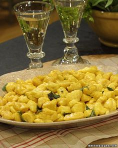 Bibas Butternit Squash Gnocchi... This recipe was passed down to chef Biba Caggiano from her mother