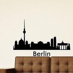 Wall Decal Vinyl Sticker Berlin Skyline City Scape Silhouette Decor Sb109 ElegantWallDecals http://www.amazon.com/dp/B011ILZBLC/ref=cm_sw_r_pi_dp_voLPvb0QKBXYN