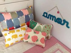 Pillows for kid's bed by Tienda Fan