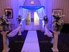 Reception decoration, banquet hall decoration http://noretasdecorinc.weebly.com