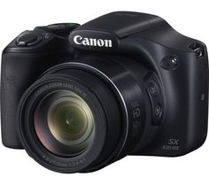 CANON  PowerShot SX530 HS Bridge Camera, Black Price: £ 159.99 With the Canon PowerShot SX530 HS Bridge Camera you'll be able to capture adventures, memories and moments in high quality photo and video format. Get more detail in your photos A 16 megapixel CMOS sensor driven by a DIGIC 4+ processor with iSAPS technology gives you consistently excellent performance, for images full of colour...