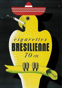 El tabaco es nocivo para la salud, pero este anuncio está sobrado. Por Simon Andrè.