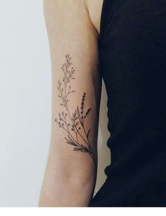 Summer flowers tattoo | Inspiring Ladies
