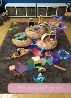 Gorgeous Faerie Small World Play @ New Horizons Preschool - Fantasy Preschool Theme