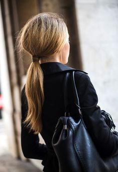 IF THE PONYTAIL IS YOUR GO-TO HAIR 'DO... check out these 8 gorgeous wrapped ponytails + read on for the how-to-do deets