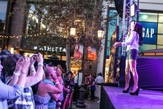 Photos from Wednesday night's free Summer Concert Series at The Grove featuring Sara Evans with Love and Theft.