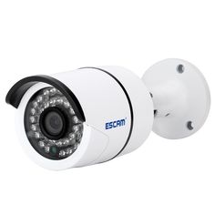 "Esca QD310 H.265 1/3 ""CMOS 4.0MP 3,6 mm P2P IP kamera (US Plug) - Doprava zadarmo - DealExtreme"