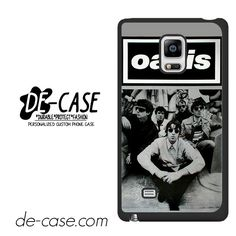 Oasis Black White Poster DEAL-8064 Samsung Phonecase Cover For Samsung Galaxy Note Edge