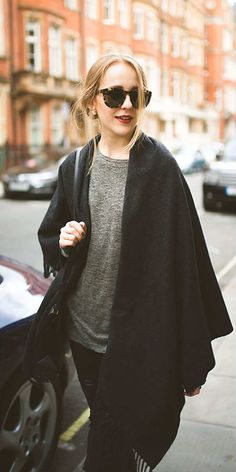 Casual street style #Layers #MotoChic