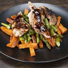 Balsamic Chicken & Veggies Meal Prep