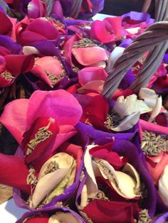 Flower petal and lavender  confetti, gorgeous smell and biodegradable too