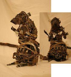 Metal Sculpture - Metal Rat by Danielle Wilbert