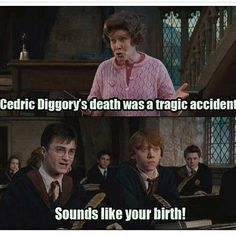 Burn 😂😂 #harrypottermemes #Regram via @harry.potter.memes
