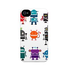 I Love Robots  from Sodacase on Wittlebee  http://wittlebee.com/oo/i-love-robots-phone-case/sodacase/