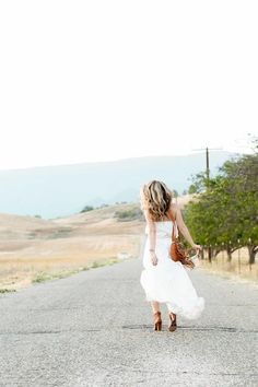 Ojai white dress