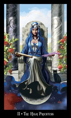 The Witch's Tarot: The High Priestess