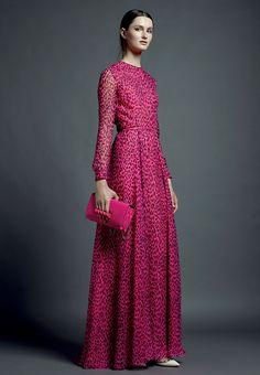 Fashion Show: Valentino Cruise/Resort 2013 (платья *в пол*)