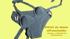 bikini da donna all'uncinetto tutorial (parte 2/2)