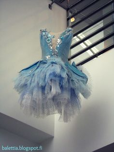 Sky blue tutu. From the collections of Finnish National Ballet. Photo (c) J. Aurava