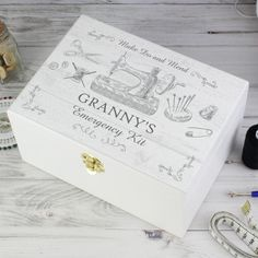 https://justtherightgift.co.uk/personalised-sewing-kit-white-wooden-keepsake-box.html